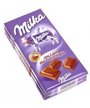 Chocolat Milka Pays Alpin Lait