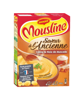 Mousline Crème et Noix de...