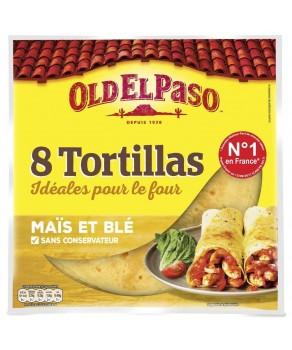 Tortillas au maïs nature...
