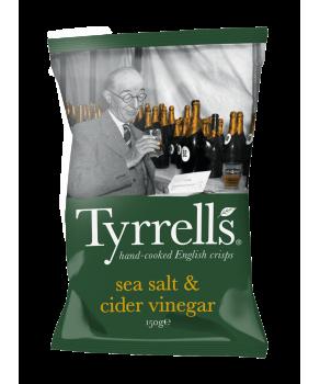 Sea Salt & cider vinegar...