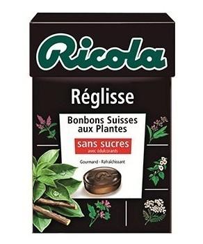 Bonbons Ricola Réglisse 50 gr