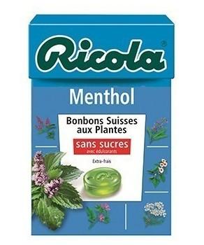 Bonbons Ricola Menthol