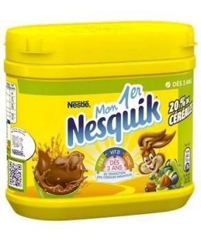 Chocolat en poudre Nesquik...