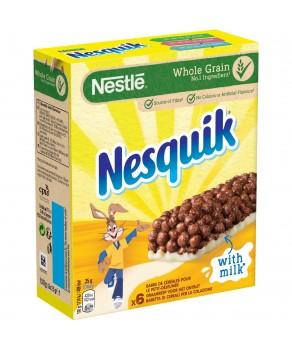 Barres Nesquik au lait