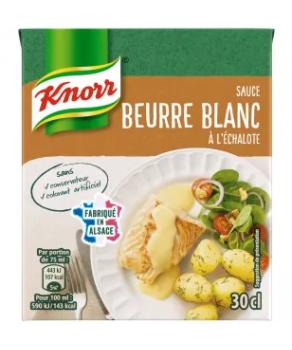 Sauce Beurre Blanc Echalotte