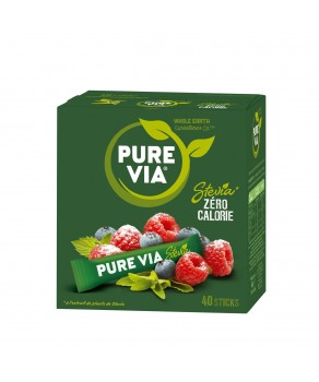 Edulcorant naturel Pure Via 40 sticks