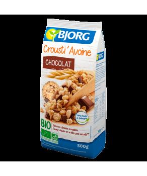 Crousti' Avoine chocolat bio