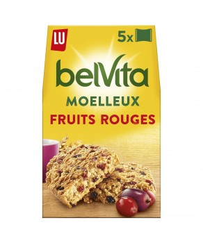 Belvita Moelleux Fruits Rouges
