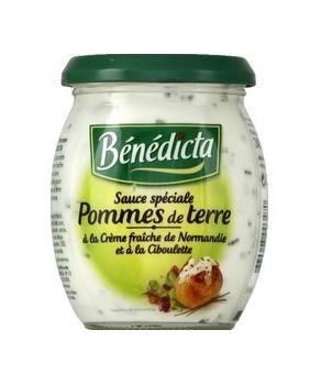 Sauce Pomme de terre Bénédicta