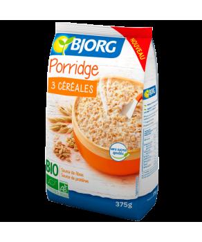Porridge 3 céréales bio