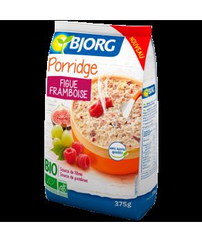 Porridge figue framboise