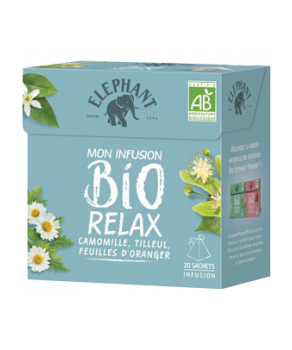 Infusions Eléphant Relax Bio
