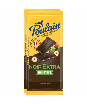 Poulain Chocolat Noir Noisette