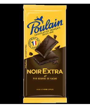 Chocolat noir extra Poulain...