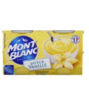 Crème Vanille Mont Blanc