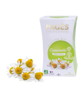 Infusion Biologique Camomille