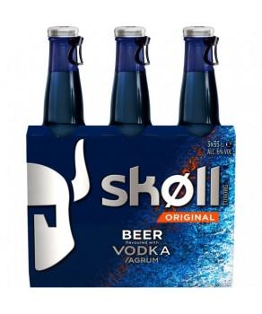 Bières Skoll vodka agrumes