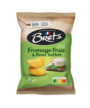 Chips Bret's fromage frais...