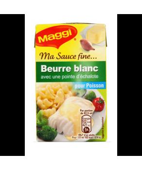 Sauce fine au beurre blanc...