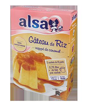 Préparation pour Gâteau de Riz