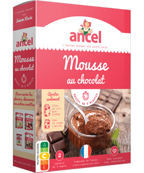 Mousse chocolat Ancel