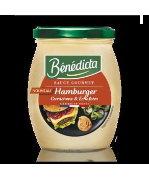 Bénédicta sauce hamburger