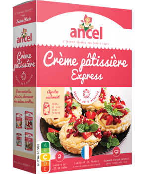 Crème pâtissière express Ancel