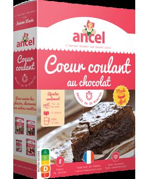 Cœur coulant au chocolat Ancel