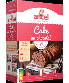Cake au chocolat Ancel