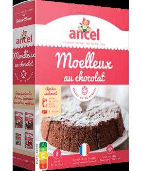 Moelleux chocolat Ancel