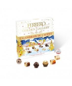 Calendrier de l'Avent Golden Gallery Ferrero