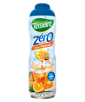 Sirop Teisseire Zéro sucres Tropical