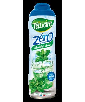 Sirop Teisseire Zéro sucres Menthe Verte