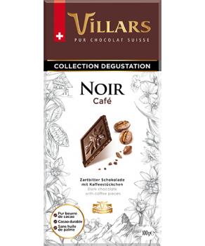 Chocolat Villars Noir & Café