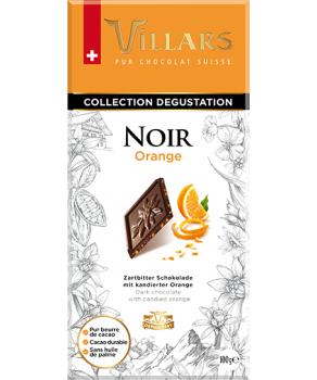 Chocolat Villars Noir & Orange