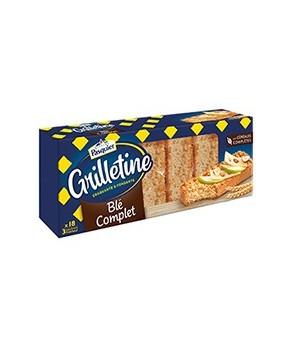 Grilletines au Blé Complet...