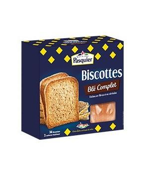 Biscottes au Blé Complet Pasquier