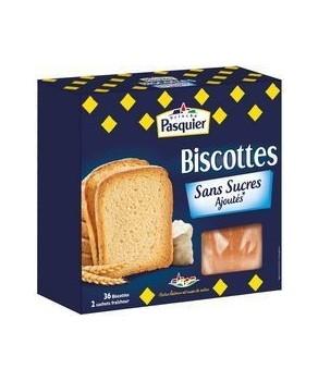 Biscottes Sans sucres ajoutés Pasquier