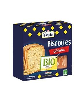 Biscottes aux Céréales Bio Pasquier