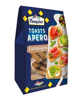 Toasts Apéro Pasquier