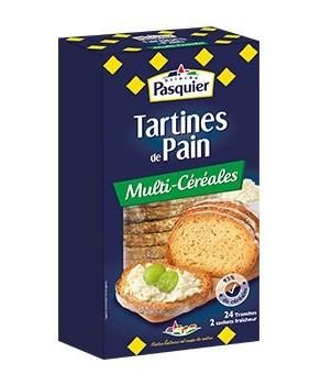 Tartines de pain...