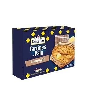 Tartines de pain de Campagne Pasquier