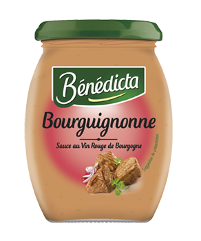 Bénédicta Sauce Bourguignonne