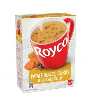 Soupe de patate douce et...