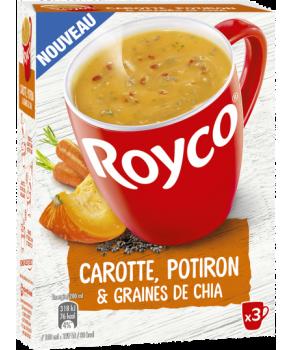 Soupe de carotte et potiron...