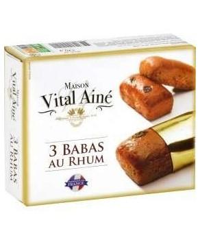 3 Babas au Rhum Vital Ainé