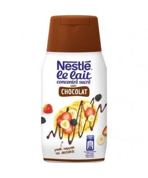 Lait concentré au chocolat...