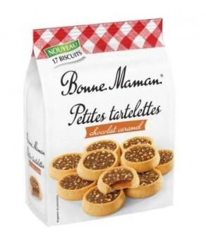 Petites tartelettes chocolat caramel Bonne Maman