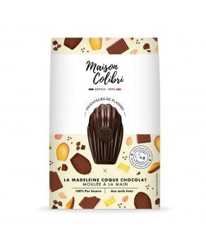 Madeleines au chocolat noir...