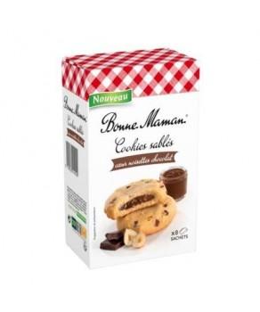 Cookies sablés au cœur noisettes Bonne Maman